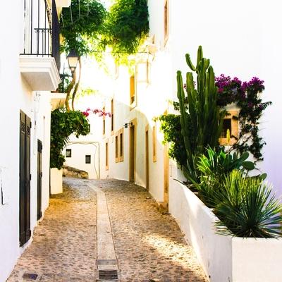 Dalt Vila, Eivissa, Spain